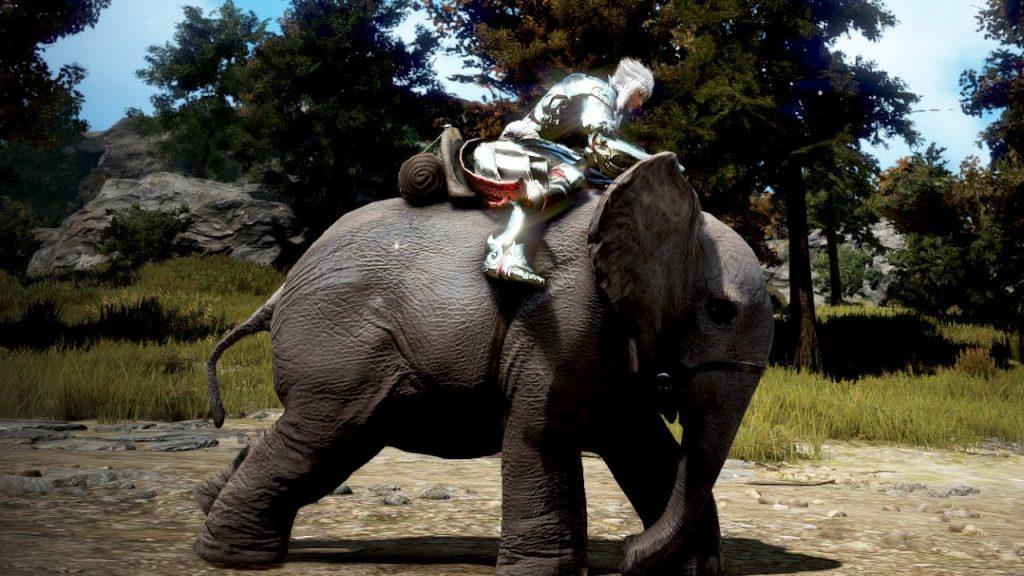 Black Desert Online Mounts - elephants