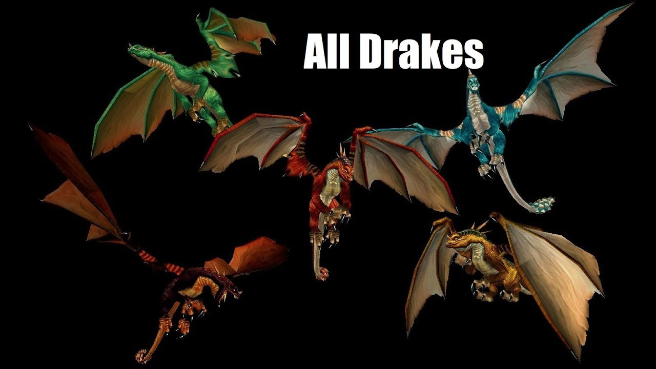 Detailed Description of Wow Dragon Mounts