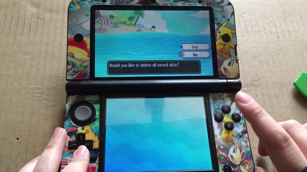 How to soft reset Pokemon Sun - Moon