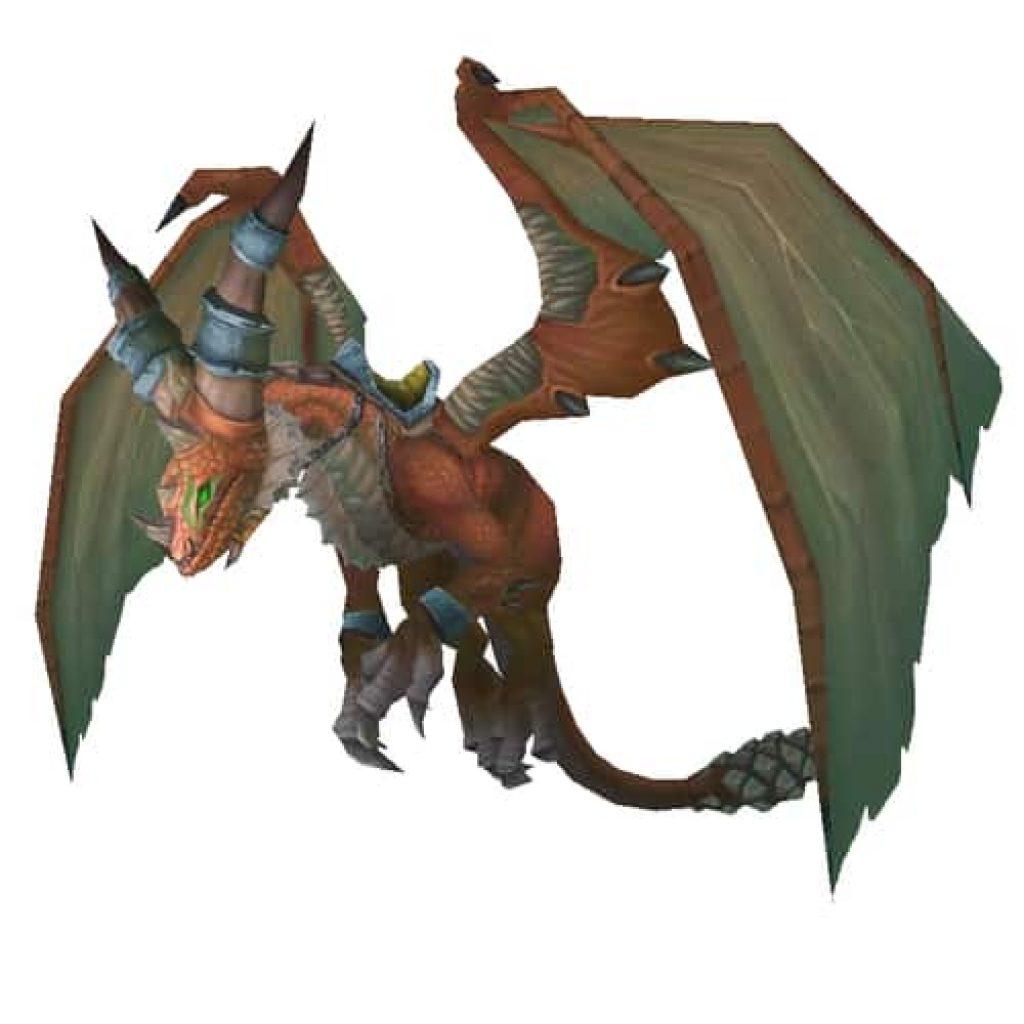 Blazing Drake in Wow Dragon Mounts