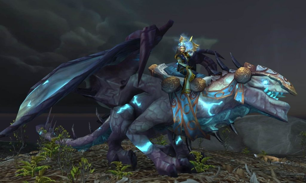 Drake of the NorthWind in Wow Dragon Mounts