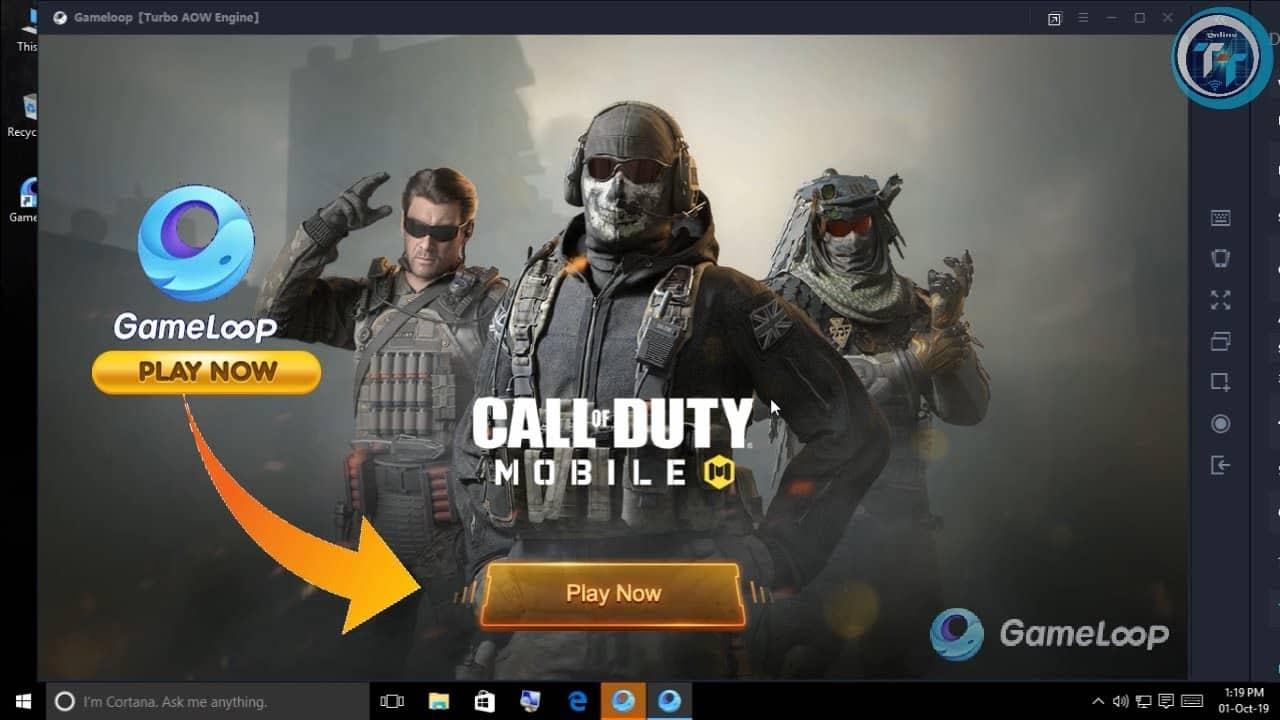 gameloop COD mobile
