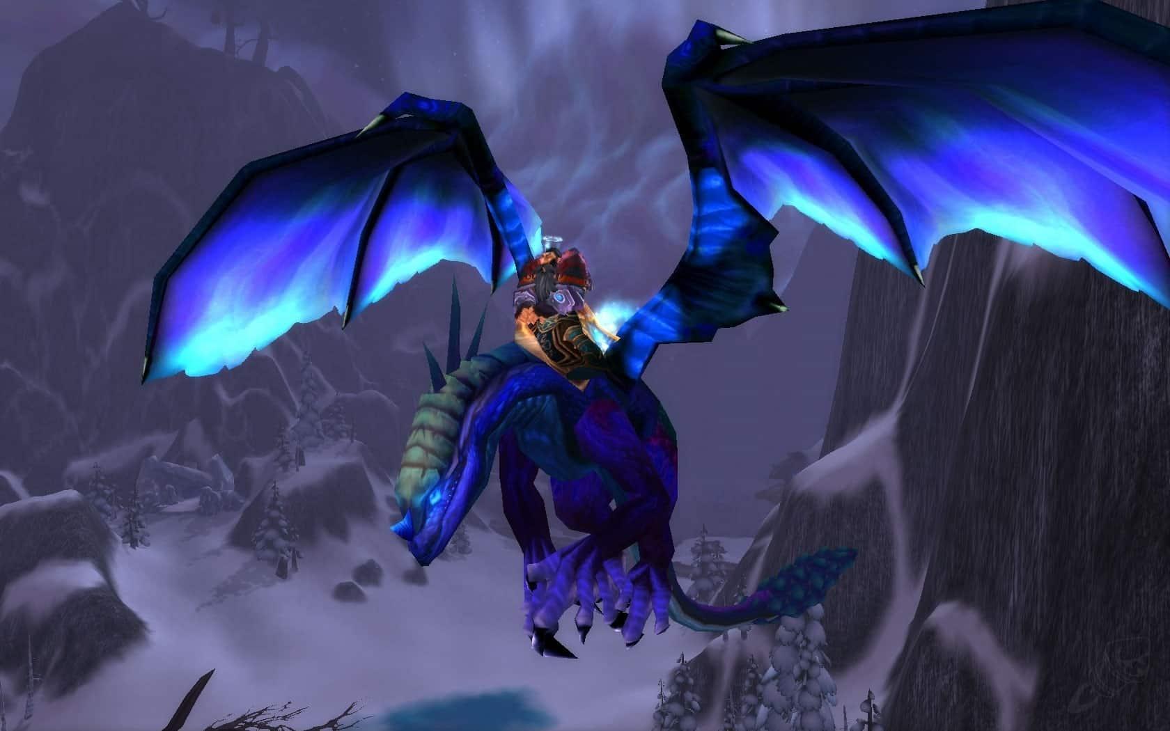wow dragon mount twilight darke