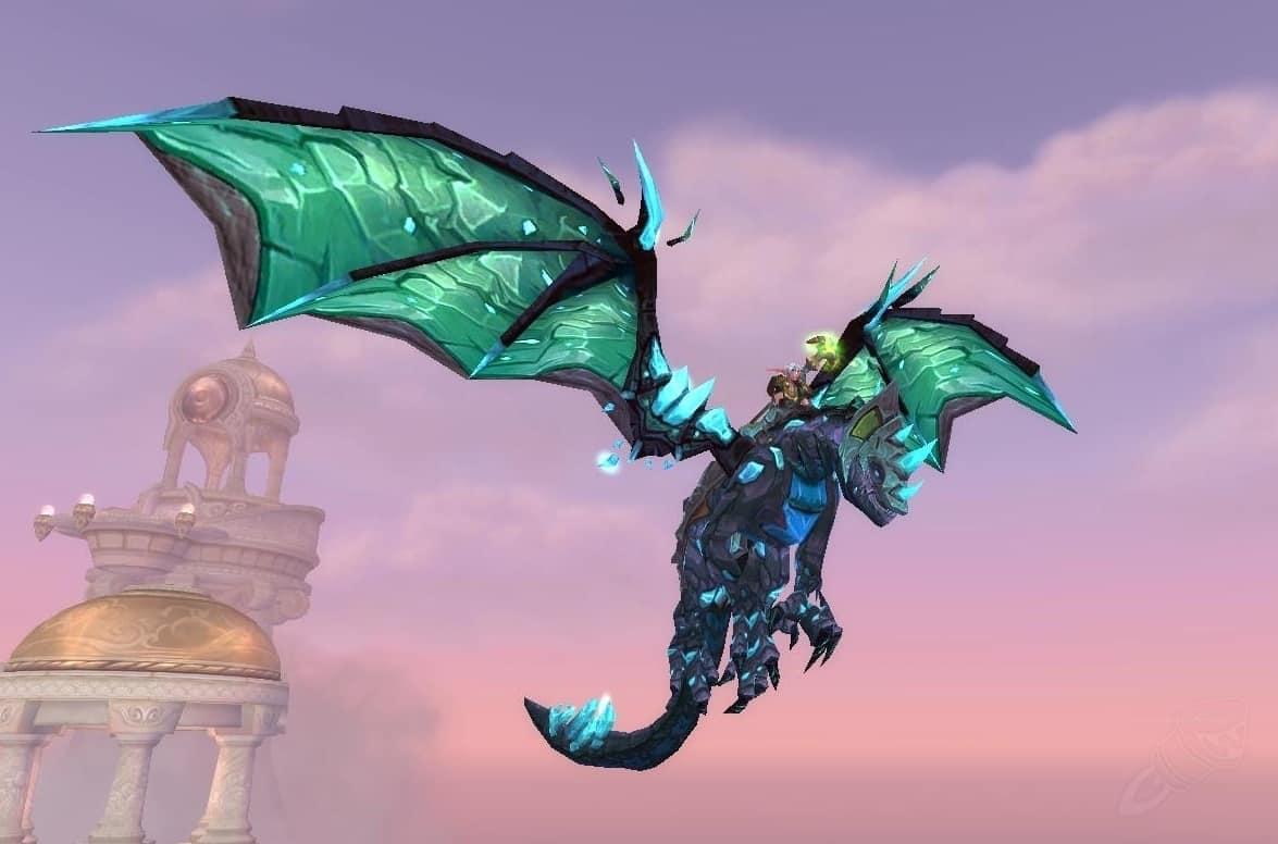 wow dragon mounts Vitreous Stone