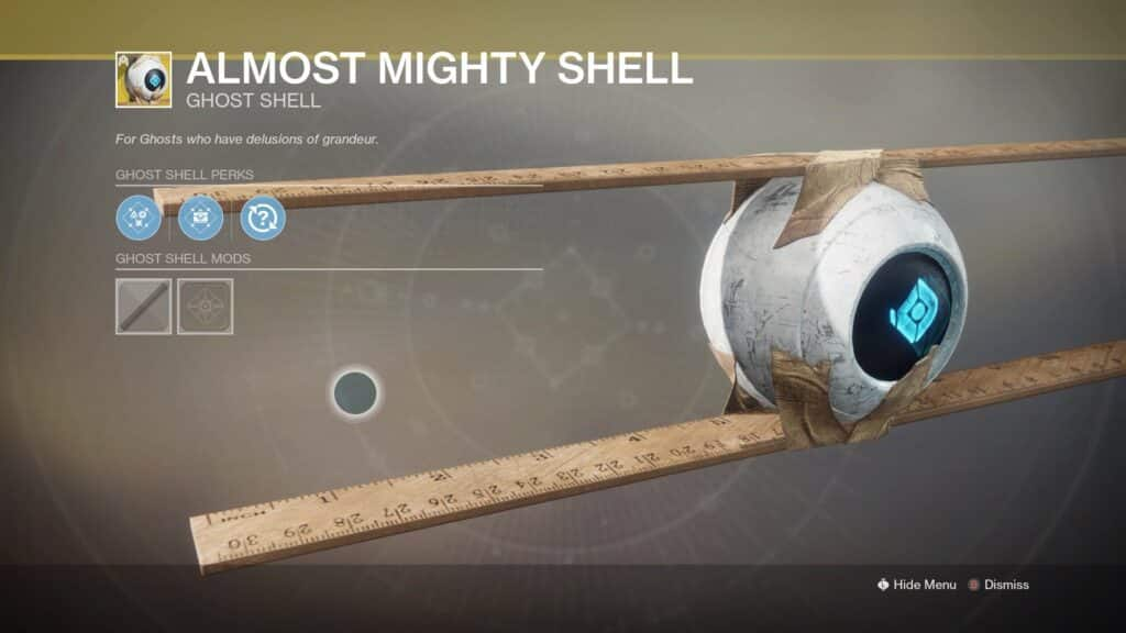 Almost mighty shell