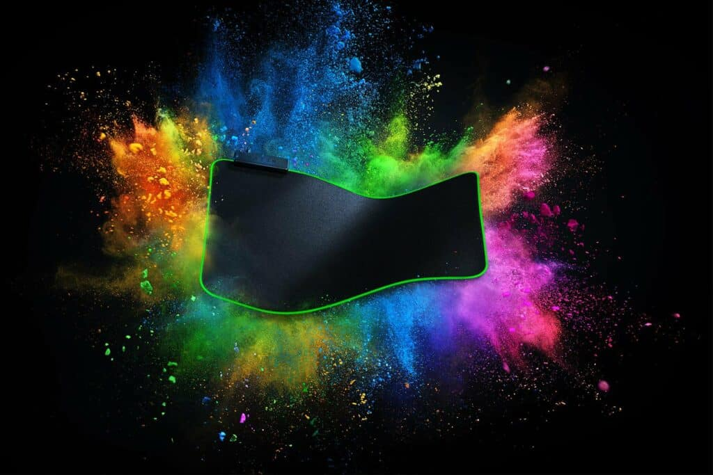 Best gaming mousepad Razer Goliathus Chroma