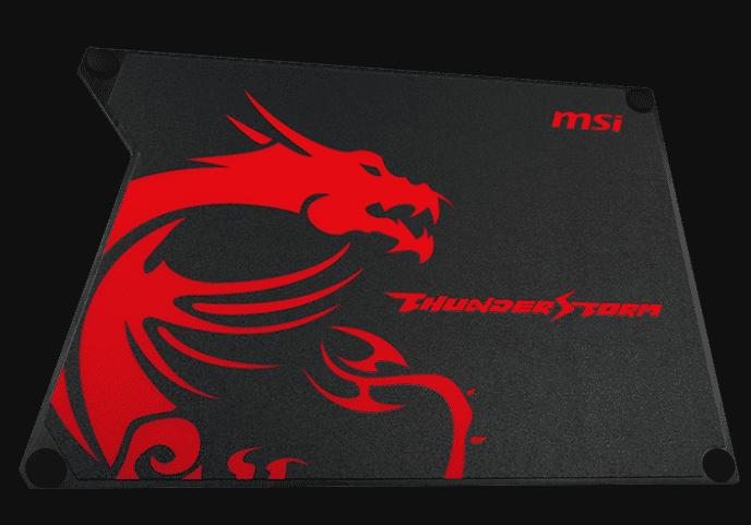 Best gaming mousepad MSI Thunderstorm