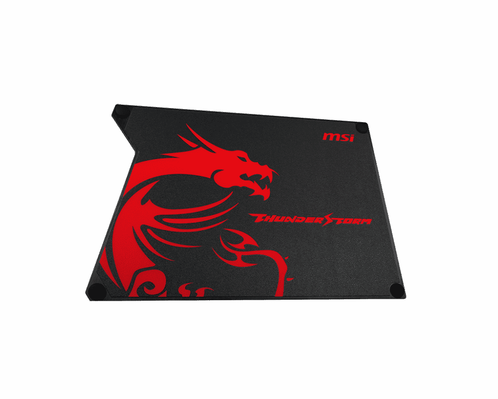Best gaming mousepad MSI Thunderstorm