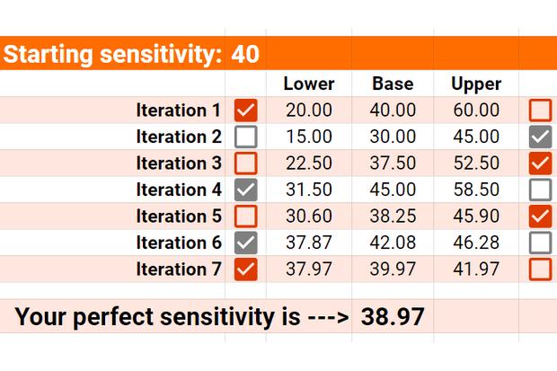 mouse sensitivity calculator