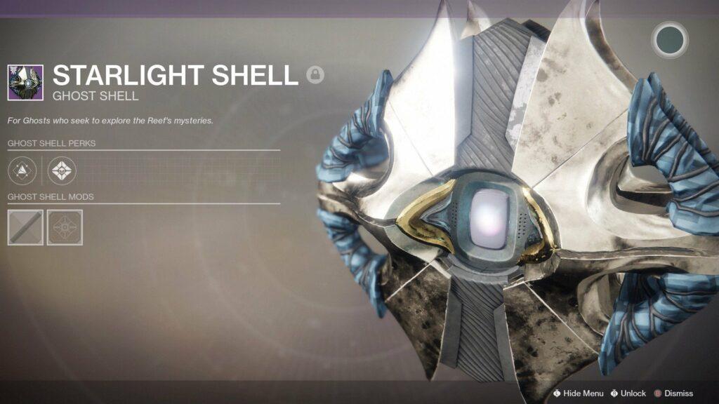 Starlight shell