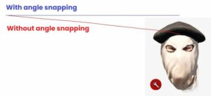 What is Angle Snapping
