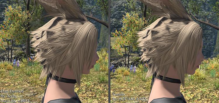 ffxiv hair mods,
