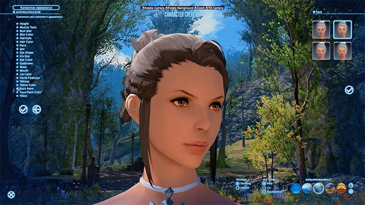 FF14 female face hd