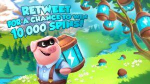 Free Coin Master spins Social media rewards
