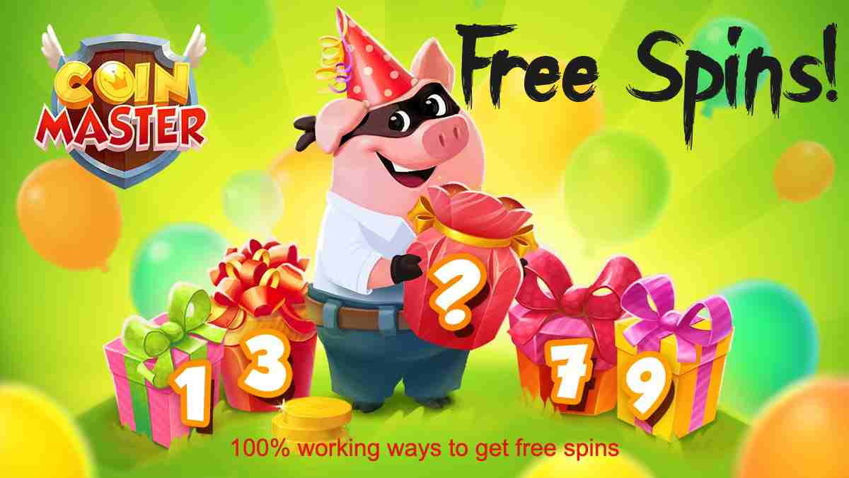 Free Coin Master spins working