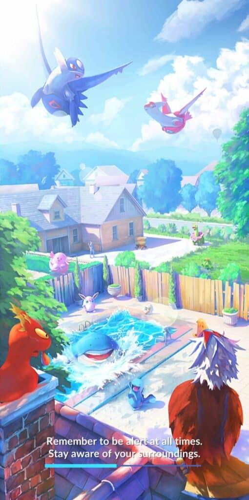 Pokemon go promocode in application