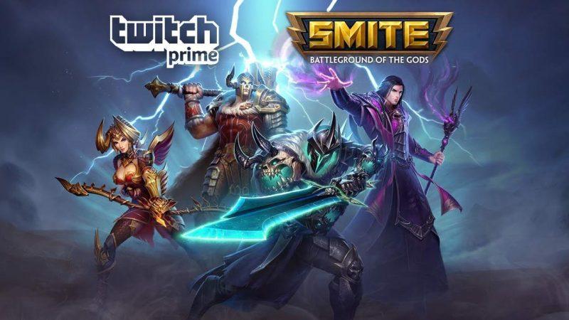 SMITE CODE twitch tv promo