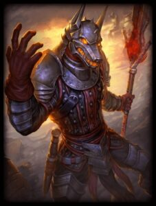 SMITE code anubis jackal knight