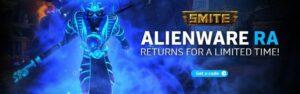 SMITE codes alienware promo