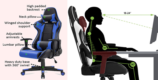 Features of Best Gaming Chair