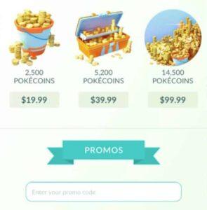 reedem free pokemon go promo code ingame