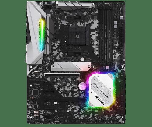 Best motherboard for Ryzen 5 3600 ASRock-B450-Steel-Legend
