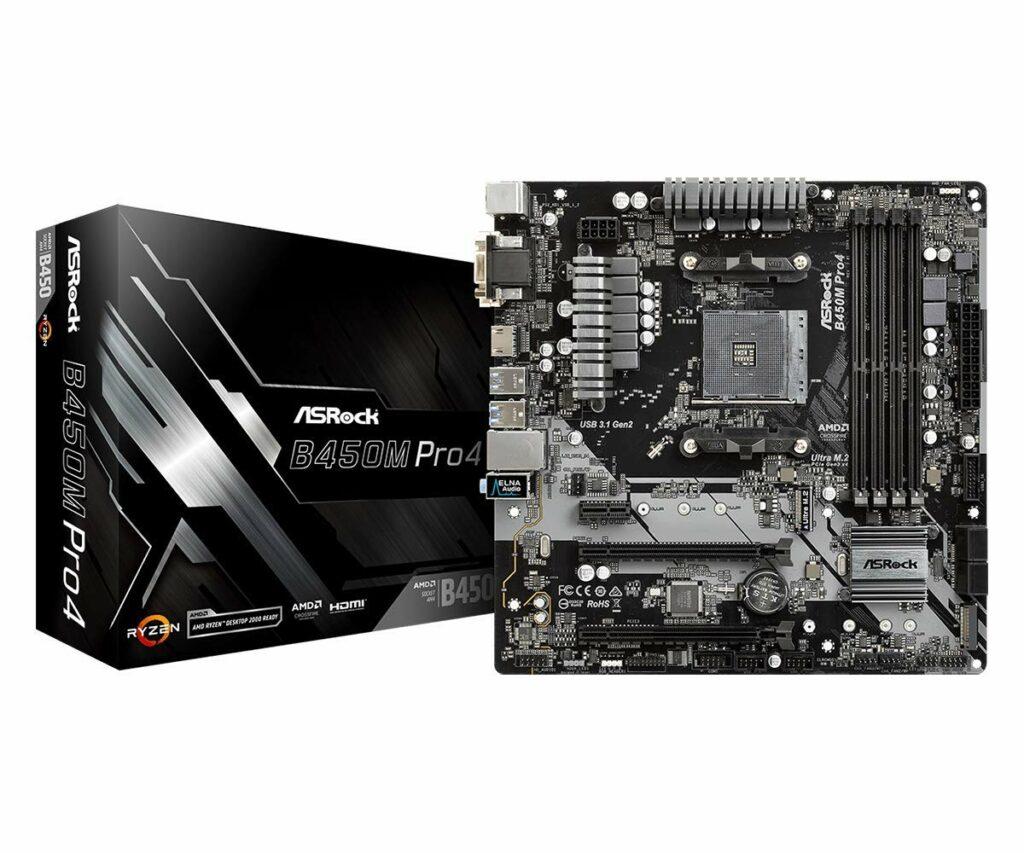 Best Motherboard for Ryzen 7 3700x Motherboard ASRock B450M