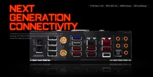 X570 AORUS XTREME connectivity