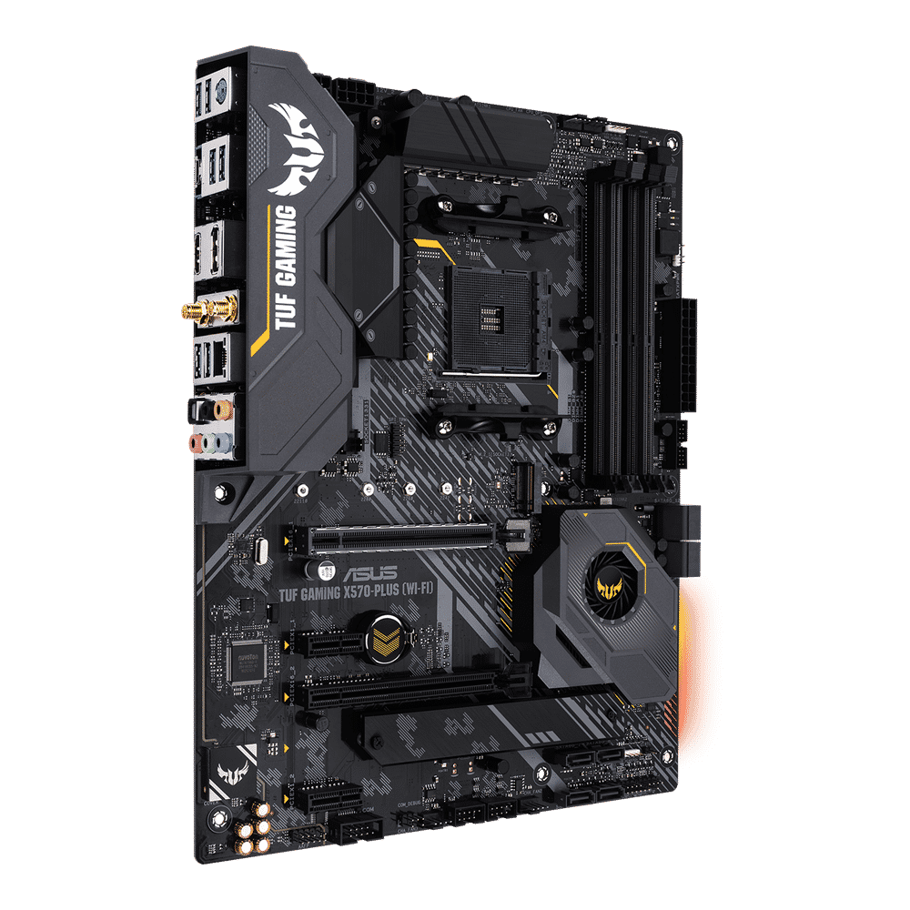 ASUS X570 wifi best X570 motherboard ports and slots
