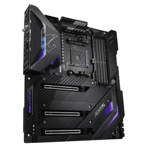 Gigabyte AORUS XTREME X570 Motherboard ports and slot