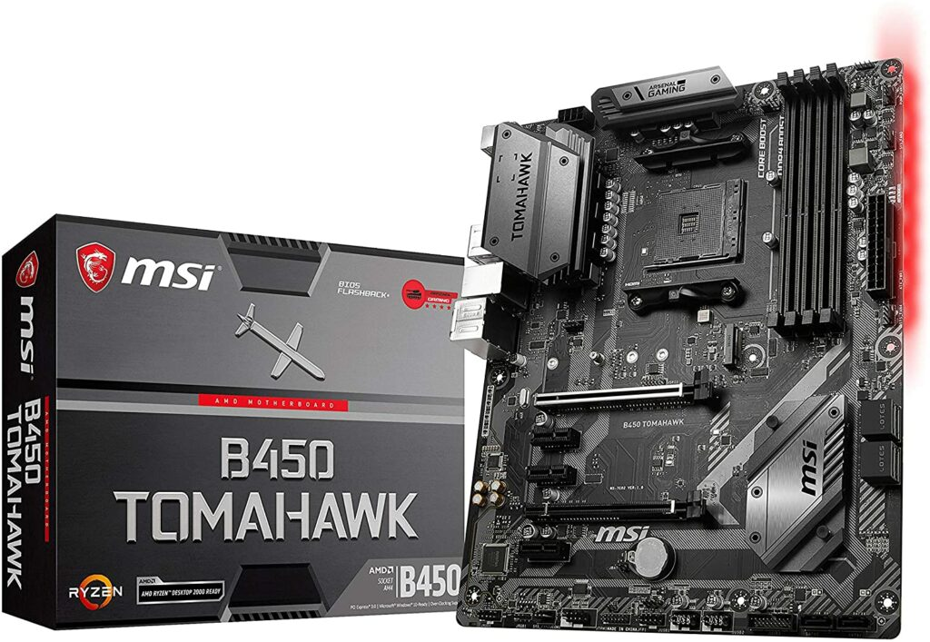 MSI B450 Tomahawk best motherboard for ryzen 5 2600