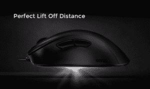 Zowie EC2B liftoff distance
