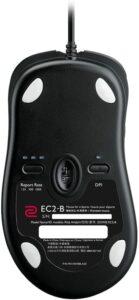 Zowie EC2B DPI control at back