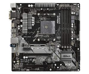 SRock B450M PRO4 AM4 AMD Motherboard
