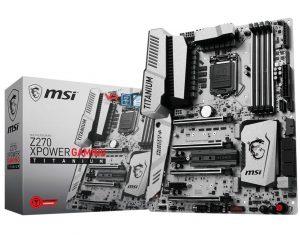MSI Intel Z270 Xpower Gaming Titanium