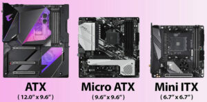 ATX | Micro ATX | Mini ITX