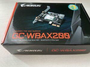 PCIe Wi-Fi cards- Gigabyte GC-Wbax200